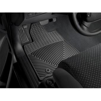 Коврики WEATHERTECH для Toyota TUNDRA передние, резиновые, цвет черный для мод. с 2012 г.