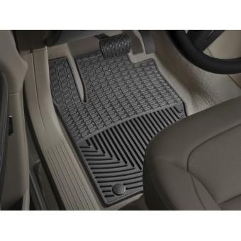 Коврики WEATHERTECH для Mercedes-Benz M-class W166 резиновые, цвет черный (1-ый и 2-ой ряд)