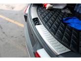 Хромированная накладка для Kia Sportage на задний бампер