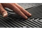 """Коврики Husky liners для Cadillac SRX резиновые """"Heavy Duty"""" в салон передние, цвет серый, изображение 6"""