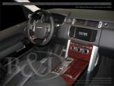 Декор салона Range Rover VOGUE