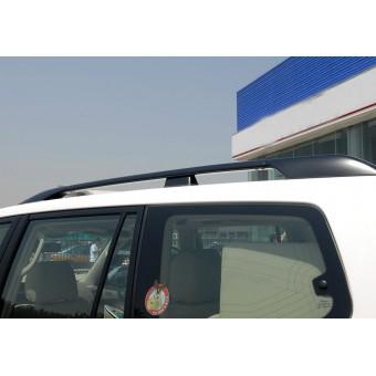 Рейлинги крыши продольные OE-Style, цвет черный (алюминий, пластик ABS, устанавливаются на болты в штатные места, без сверления)