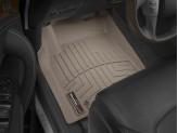 Коврики WEATHERTECH для Nissan Patrol Y62 передние, цвет бежевый