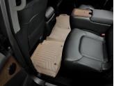 Коврики WEATHERTECH для Nissan Patrol Y62 задние, цвет бежевый