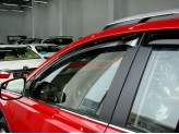 Дефлекторы боковых окон SIM для Toyota RAV4, темные