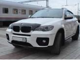 Дефлектор капота SIM для BMW X6, темный