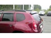 Спойлер задней двери на Renault Duster (устанавливается без сверления,на 4 кронштейна), изображение 3