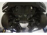 Алюминиевая защита АКПП+РК для V-2.8TD (из 2-х частей,толщина 4 мм), изображение 2