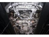 Алюминиевая защита АКПП+РК для V-2.8TD (из 2-х частей,толщина 4 мм), изображение 3