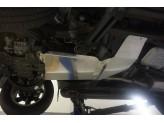 Алюминиевая защита АКПП+РК для V-2.8TD (из 2-х частей,толщина 4 мм), изображение 5
