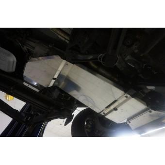 Алюминиевая защита днища (для  V-2.8TD, АКПП из 5-ти частей,толщина 4 мм),лючка для слива масла нет
