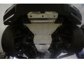 Алюминиевая защита днища (для  V-2.8TD, АКПП из 5-ти частей,толщина 4 мм),лючка для слива масла нет, изображение 2