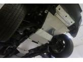 Алюминиевая защита днища (для  V-2.8TD, АКПП из 5-ти частей,толщина 4 мм),лючка для слива масла нет, изображение 3