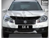 Дефлектор капота SIM для Suzuki SX4, темный