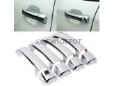 Хромированные накладки на дверные ручки Toyota TUNDRA