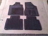 Коврики в салон для Nissan Murano, резиновые, цвет черный