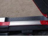 Хромированные накладки для Jeep Wrangler на пороги, для 3D/5D V-3,6 2014 г.-