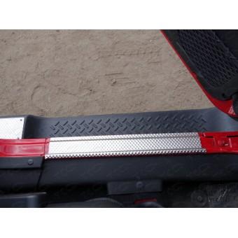 Хромированные накладки для Jeep Wrangler на пороги (декоративные) (комплект 2 шт), для 3D/5D V-3,6 2014 г.-