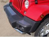 Хромированная накладка для Jeep Wrangler на передний бампер,для 3D/5D V-3,6 с 2014 г.-