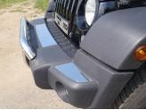 Хромированная накладка для Jeep Wrangler на передний бампер зеркальные, для 3D/5D V-3,6 с 2014 г.-
