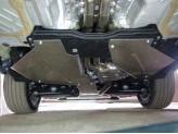 Защита бака заднего редуктора 4 мм