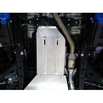 Защита КПП (алюминий) 4 мм, 2.5
