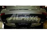 Хромированная накладка для Mercedes-Benz GL на задний бампер, полир. нерж. сталь для мод 2006-2012