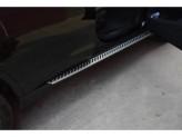 Пороги для BMW X4, OE-style