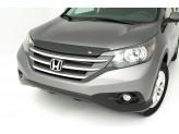 "Дефлектор капота AVS для Honda CR-V ""Aeroskin"", темно-дымчатый"