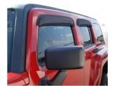 Дефлекторы боковых окон AVS для Hummer H3