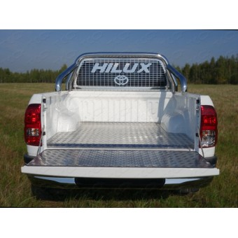 Защитный алюминиевый вкладыш в кузов автомобиля (дно, борт)