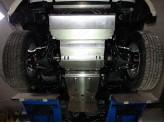 Защита радиатора для Mitsubishi L200 4мм