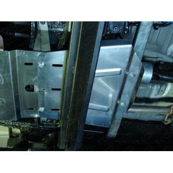 Защита раздатки (алюминий) 4 мм