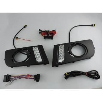 Cветодиодные фонари передние для Volkswagen Amarok (для мод. до 2013 года)