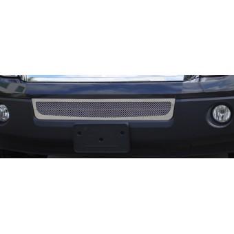 Решетка в бампер полированная нерж. сталь (2007-2012 г.)