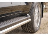 Защита штатного порога 60 мм полир.нерж.сталь