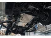 Алюминиевая защита КПП и РК из 2-х частей