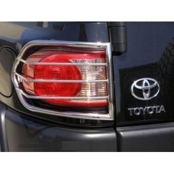 Защита задних фонарей для Toyota FJ CRUISER из 2- х частей полир. нерж. сталь