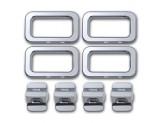Хромированные накладки для Hummer H2 на двери из 8 частей