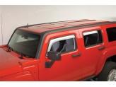 Дефлекторы боковых окон Putko для Hummer H3
