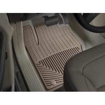 Коврики WEATHERTECH резиновые для Mercedes-Benz GLE, цвет бежевый (1-ый и 2-ой ряд)