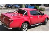 Крышка пикапа для Double Cab TS-II в комплекте с защитными дугами и рейлингами, цвет коричневый