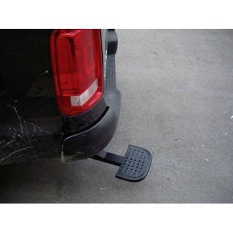 Подножка задняя для Toyota HiLux, цвет черный