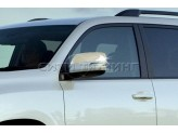 Хромированные накладки на зеркала Toyota Landcruiser Prado 150