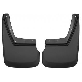 Комплект задних брызговиков, цвет черный