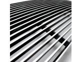 Решетка радиатора, полированный алюминий