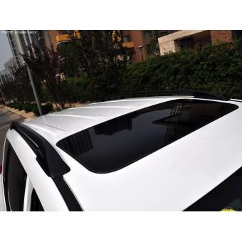 Рейлинги крыши продольные OE-Style (длинная колесная база, алюминий, пластик ABS, устанавливаются на болты в штатные места без сверления) 2006-2012 г