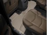 Коврики WEATHERTECH для Cadillac Escalade ESV  2-ой ряд, цвет бежевый
