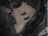 Коврики WEATHERTECH для Cadillac Escalade 3-ий ряд, цвет бежевый, для bucket seating
