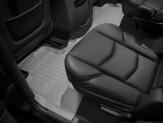 Коврики WEATHERTECH для Cadillac Escalade  2-ой ряд, цвет серый